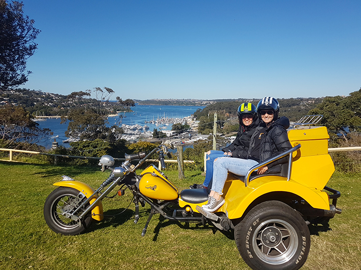 trike tour Sydney beaches