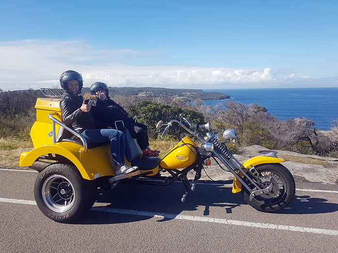 Dobroyd Head trike tour
