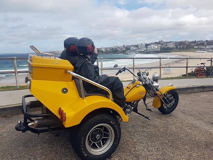 trike tour Eastern Sydney