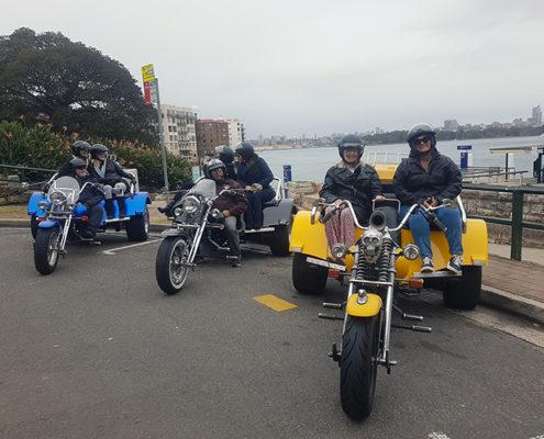 girls weekend trike tour