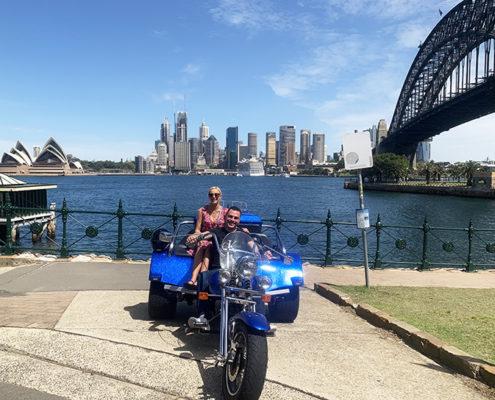 Sydney sights trike tour