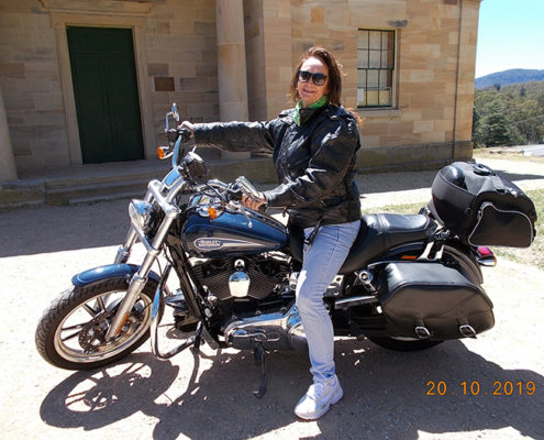 Harley ride Blue Mountains