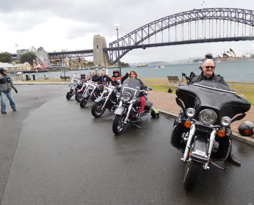 Harley ride surprise 50th birthday present