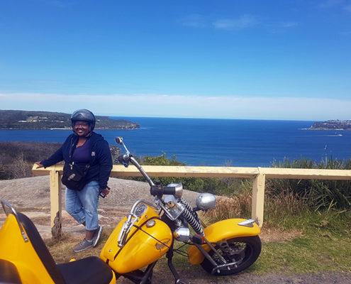 Beach Beauty trike tour of northern beaches, Sydney