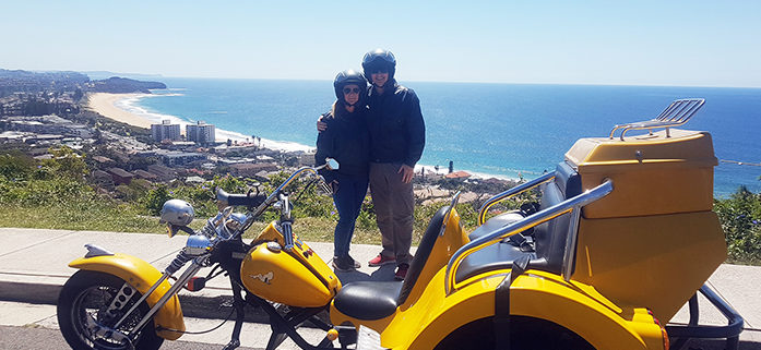 Surprise Northern Beaches trike tour for birthday