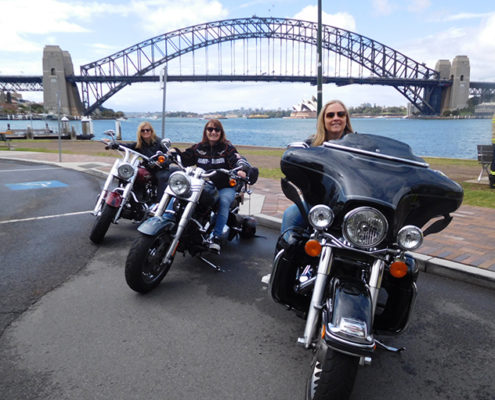 surprise Harley ride present