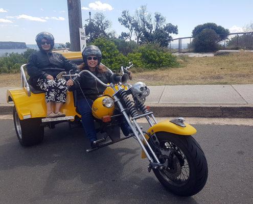 Eastern Panorama trike tour Sydney