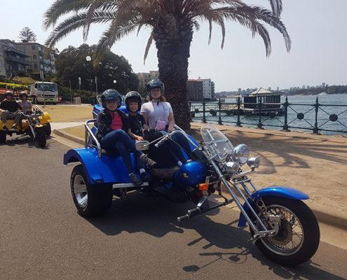 city Bridge trike tour