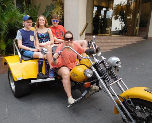 Harley trike family tour