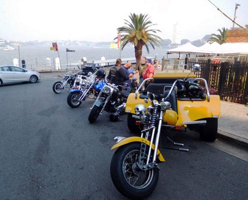 Harleys trikes Christmas transfer