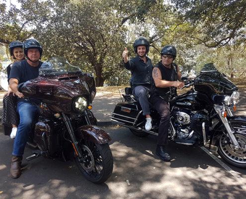 trikes Harleys Christmas transfer