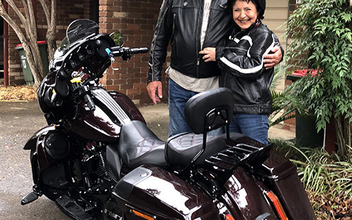 60th Harley ride surprise