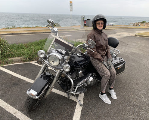 80th birthday Harley tour