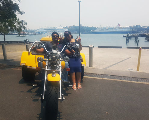 3 main bridges trike tour in Sydney