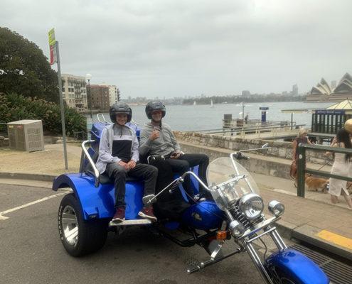 Christmas present trike tour Sydney