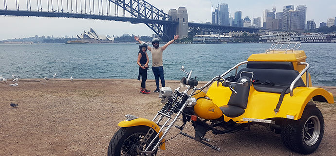 Sydney Harbour Bridge trike tour