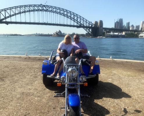 Harbour Bridges trike tour