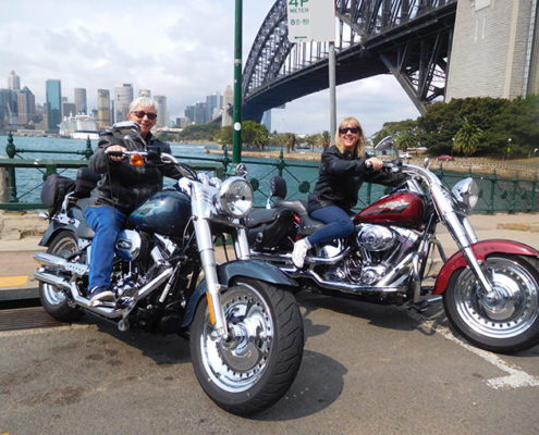 Harley tour 3Bridges Sydney