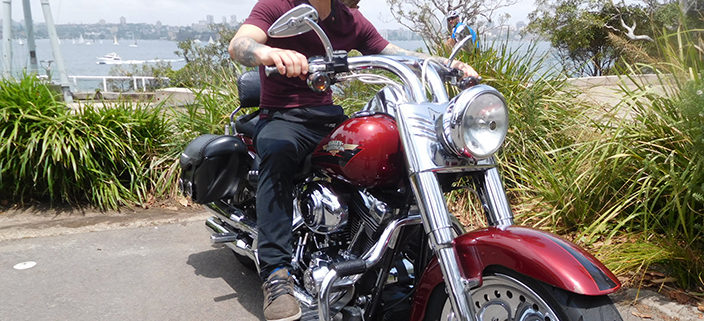 north shore Harley tour