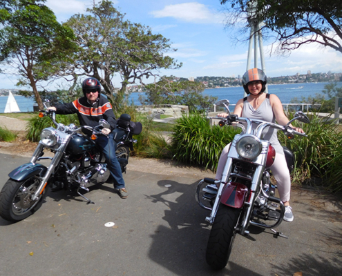 northern and eastern Harley tour, Sydney