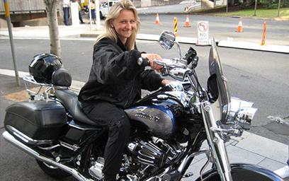 Harley tour, Sydney Australia