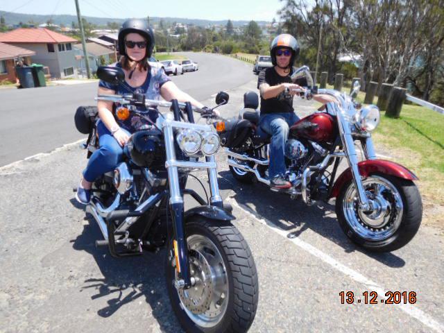 Troll Tours Harley ride, Sydney