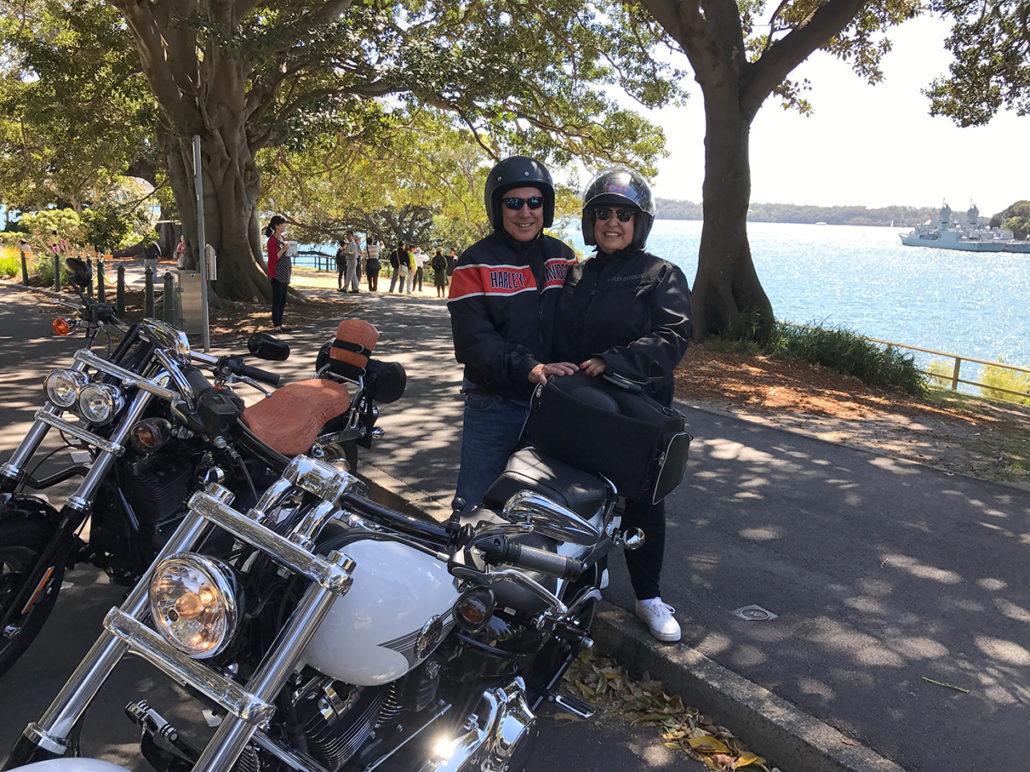 Harley tour Sydney