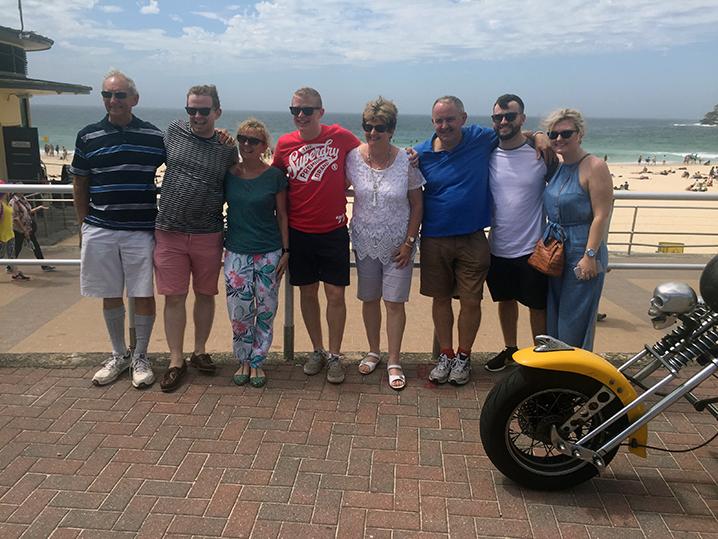 Harley trike tour Bondi Sydney