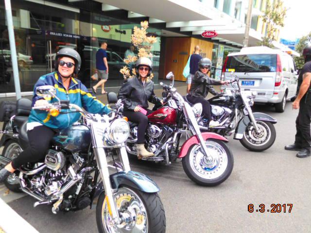 Harley ride Eastern Suburbs Sydney