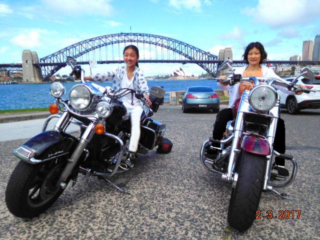 Harley-tour-Sydney-Australia