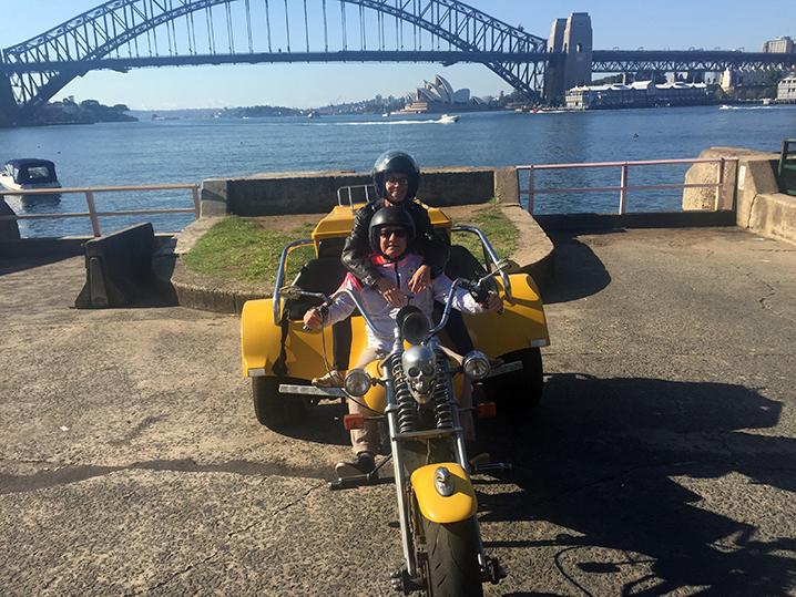 trike ride Father's Day Present