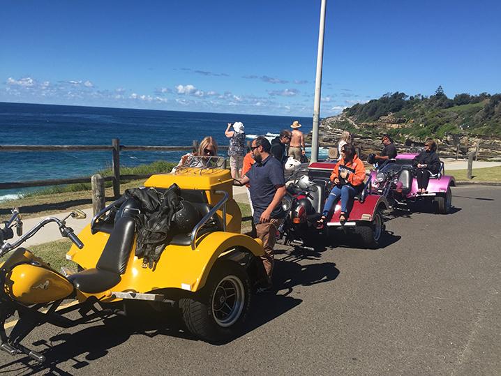 Harley trike transfer Sydney Australia