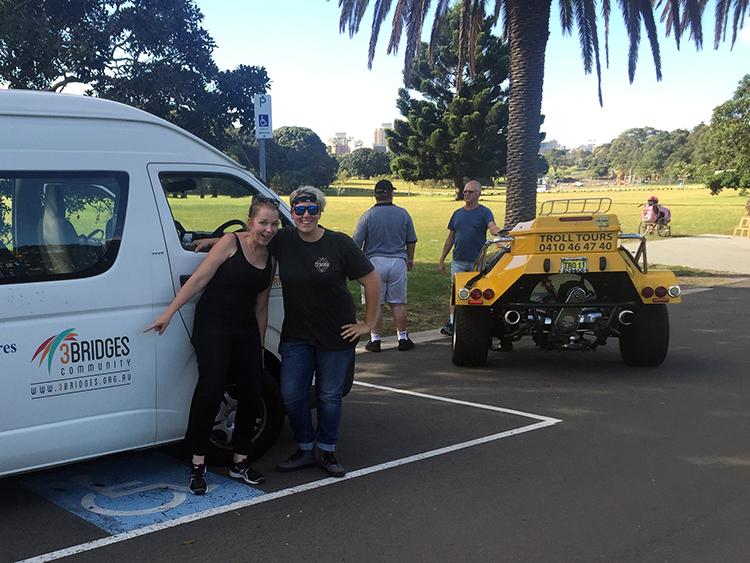 trike tour Centennial Park, Sydney