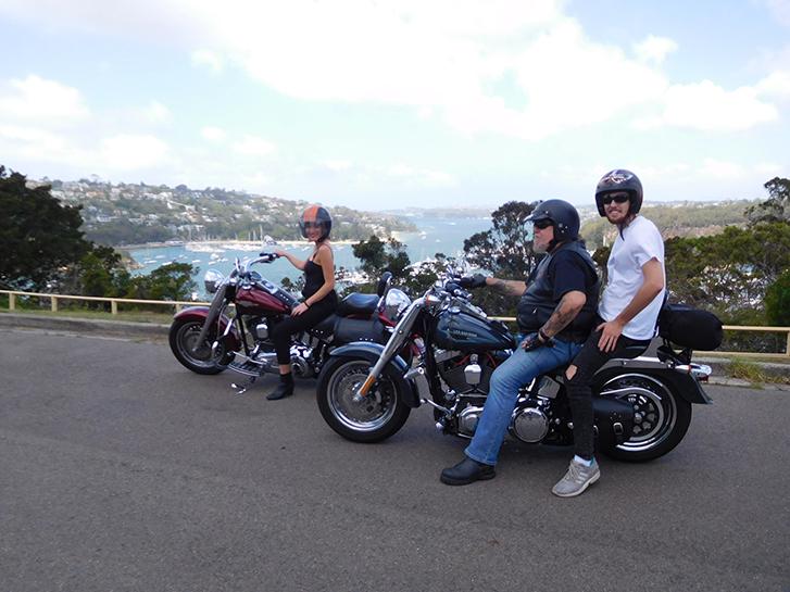 Harley North Shore Skimmer tour