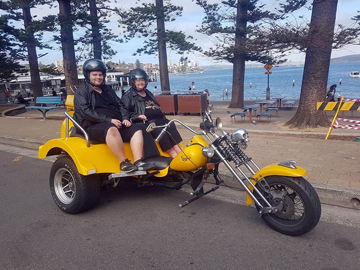 60th birthday trike fun