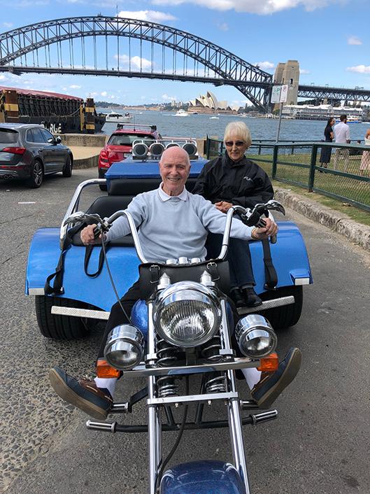 80th birthday trike ride