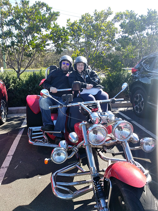 trike tour Southern Spectacular