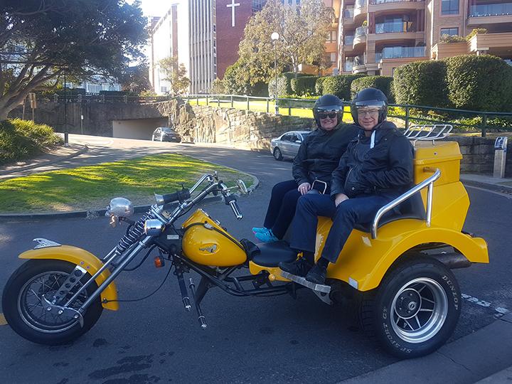 Sydney trike birthday experience