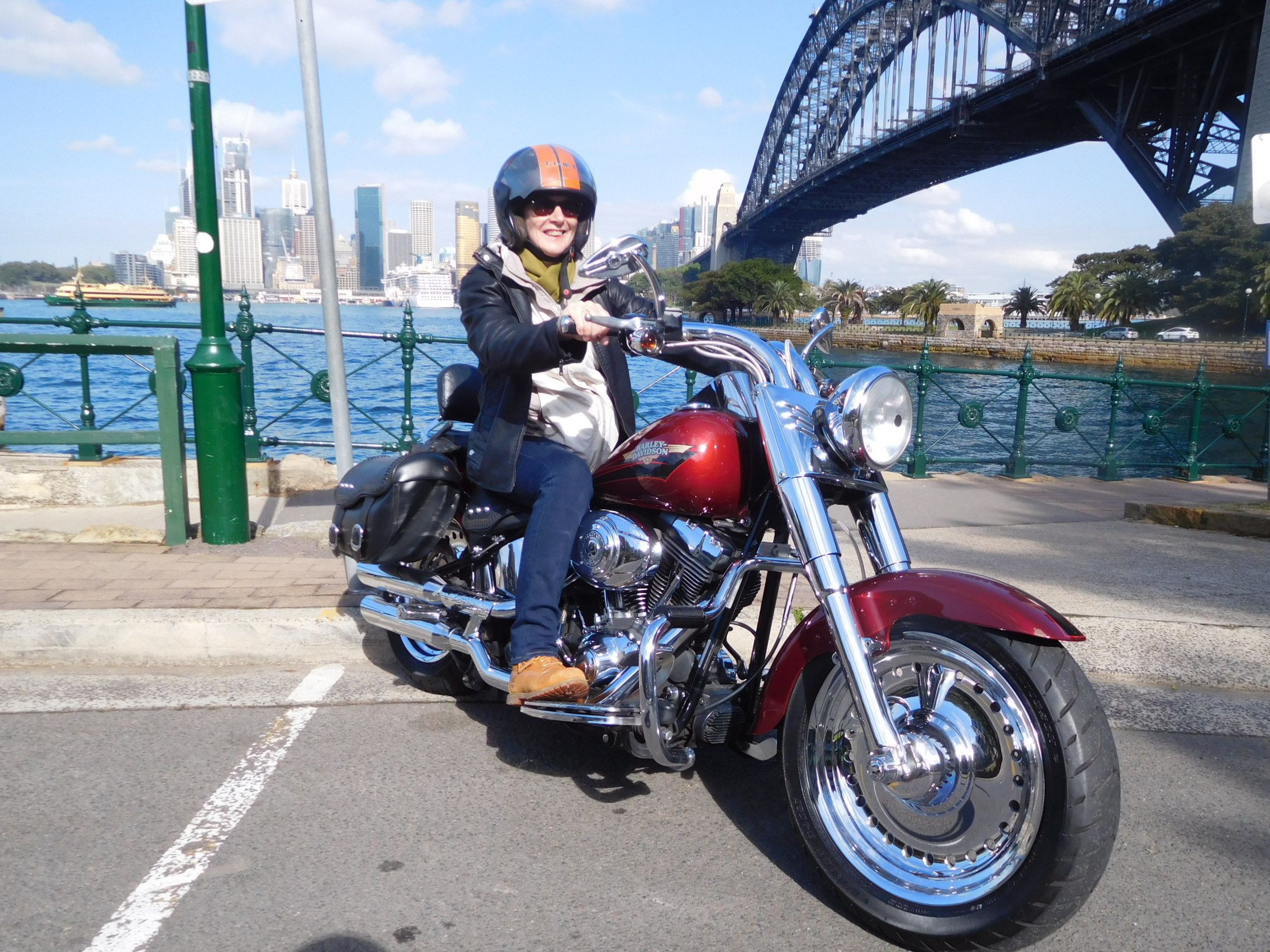 60th birthday Harley tour