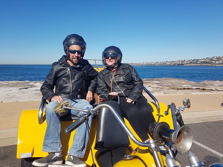 40th birthday trike tour
