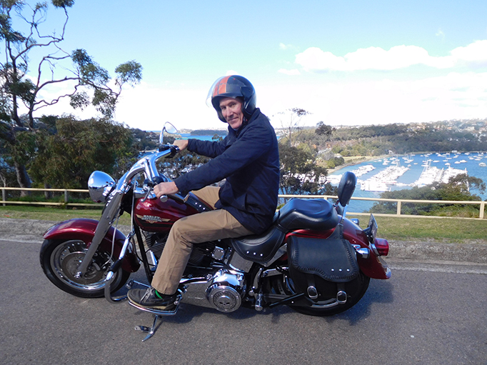 Harley north shore ride