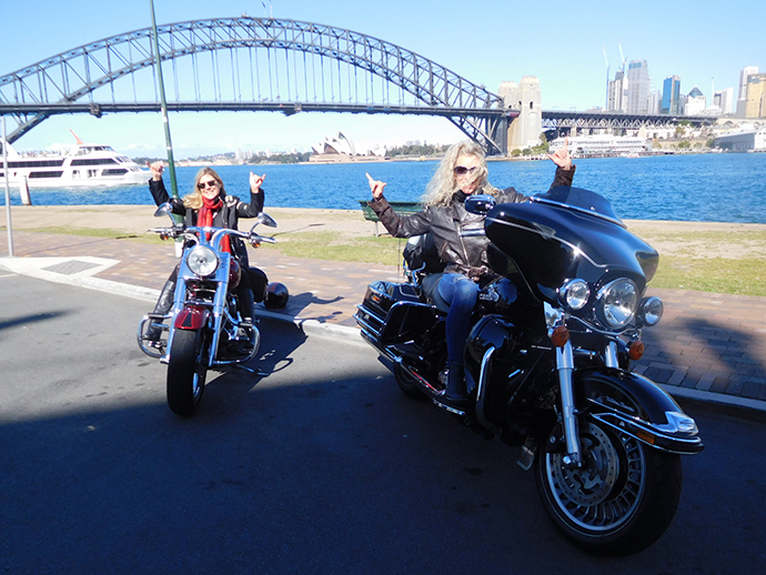 Harley tour for birthday