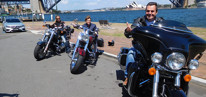 Sydney scenic Harley tour