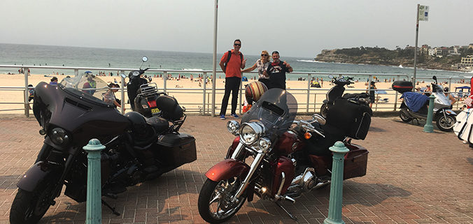 north east Harley tour