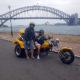 trike tour around Sydney Harbour, Australia