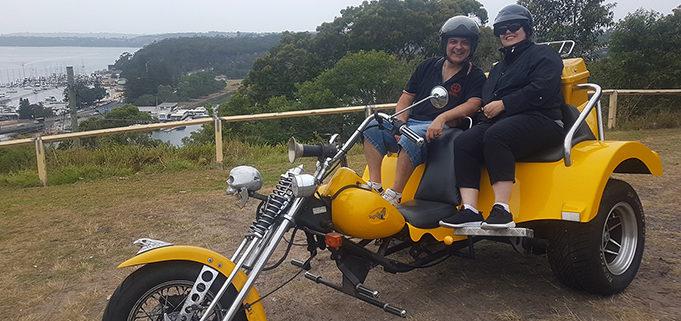 northern shore trike tour around Sydney