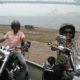 Harley tour through Sydney Australia