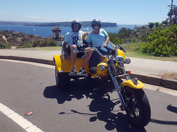 Eastern Panorama trike ride, Sydney