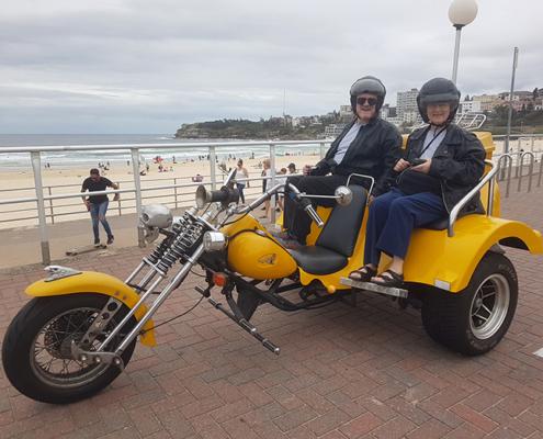 astern Suburb trike tour, Sydney