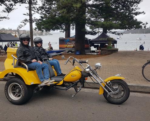 North Shore Skimmer trike tour, Sydney